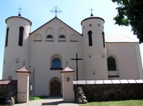 Костел Святого Иоанна Крестителя д. Камаи (1603 - 1606)