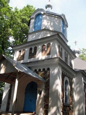 Церковь Успения пресвятой Богородицы д. Маньковичи (1871 г.)